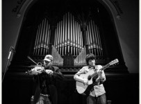 Ashley Macisaac with Quinn Bachand