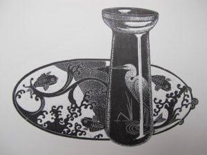 rhyll-plant-japanese-wood-engraving